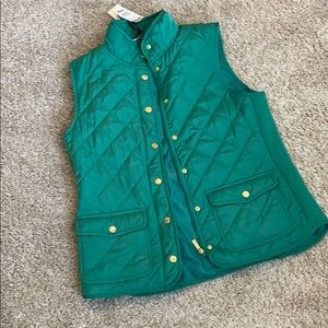 Beautiful puffer vest NWT
